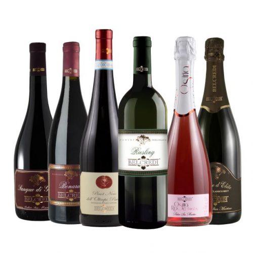 Box vini tipici dell'oltrepò